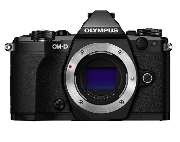 Olympus OM-D E-M5 Mark II Gehäuse - Frontansicht