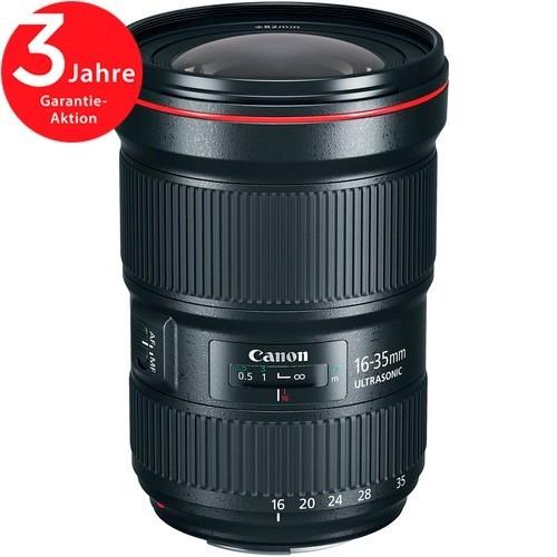 Canon EF 16-35mm f/2.8 L III USM Objektiv - Schrägansicht