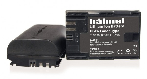 Hähnel Akku HLE6 äquivalent zu Canon LP-E6