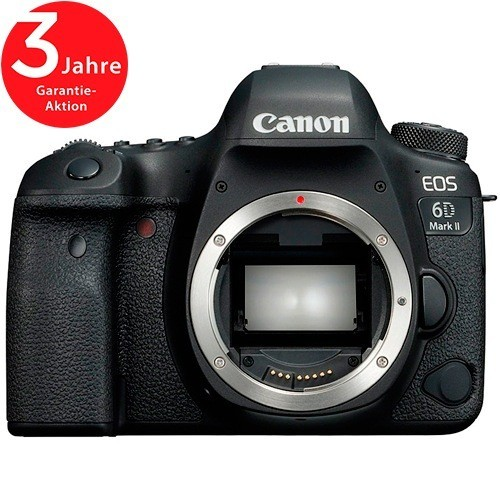 Canon EOS 6D Mark II Gehäuse - Frontansicht