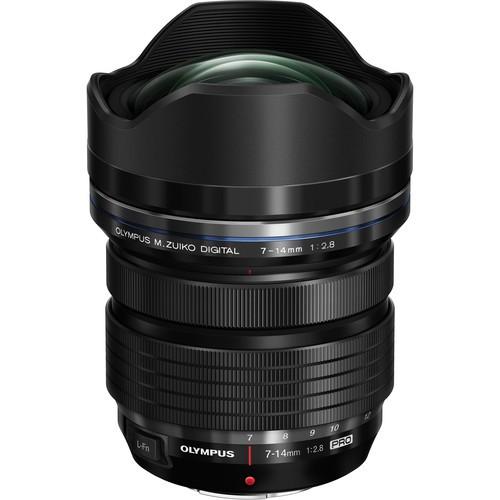 Olympus M.Zuiko Digital ED 7-14mm F2.8 Pro - Frontansicht