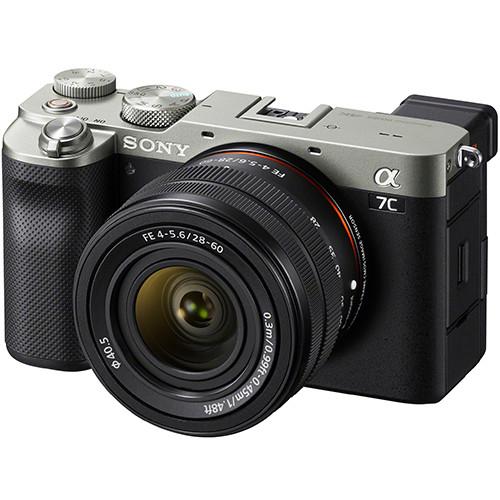 Sony Alpha 7C Kit mit FE 28-60mm f/4.0-5.6 Objektiv silber