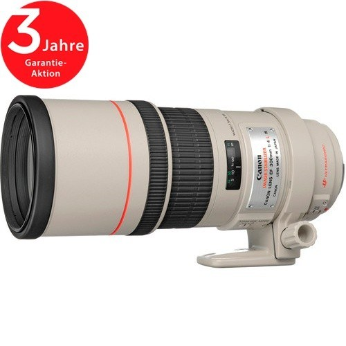 Canon EF 300mm f/4 L IS USM Objektiv - Seitenansicht