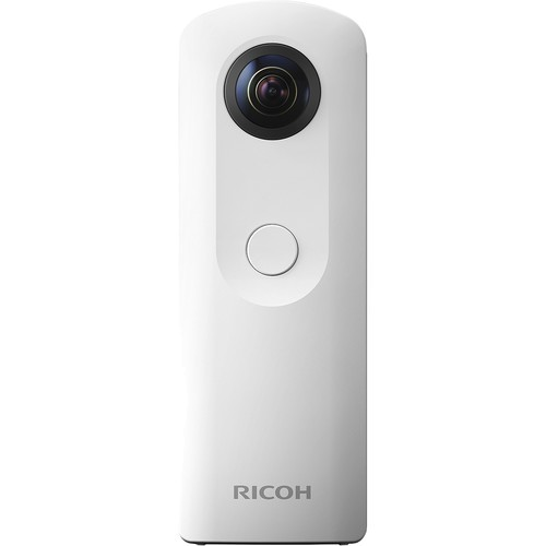 Ricoh Theta SC 360° Kamera weiss - Frontansicht
