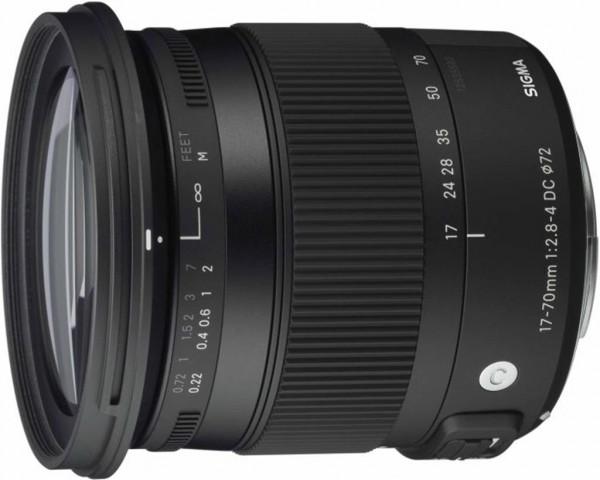 Sigma 17-70mm f/2.8-4 DC Macro OS HSM Contemp. Objektiv für Sigma