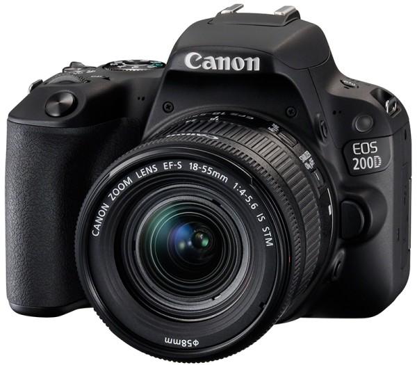 Canon EOS 200D Kit - Frontansicht