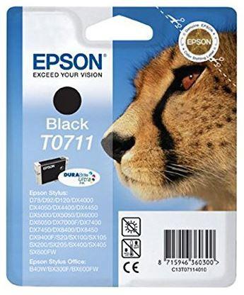 Epson T0711 Tintenpatrone schwarz für D78