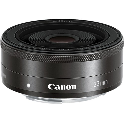 Canon EF-M 22mm f/2 STM Objektiv - Frontansicht