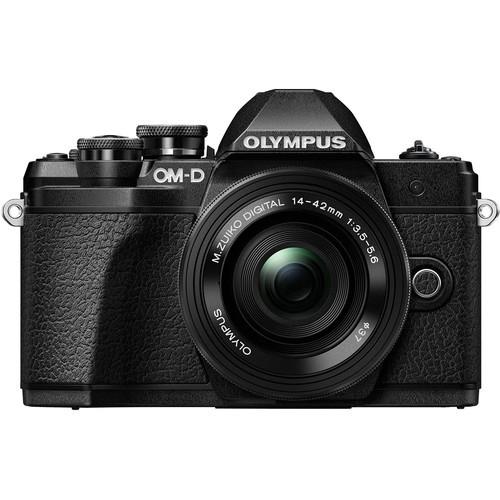 Olympus OM-D E-M10 Mark III Kit - Frontansicht