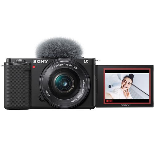 Sony Alpha ZV-E10 Kit mit 16-50mm PZ Objektiv
