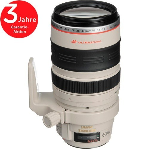 Canon EF 28-300mm f/3.5-5.6 L IS USM Objektiv - Frontansicht