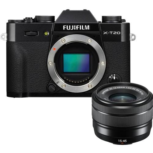 Fujifilm X-T20 Kit mit XC 15-45mm Objektiv