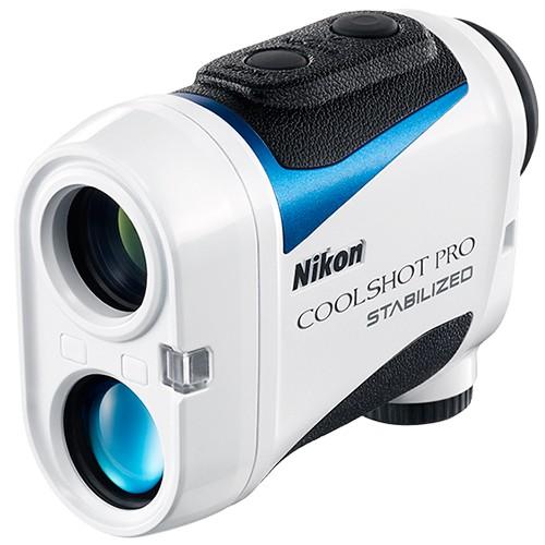 Nikon Coolshot Pro Stabilized Laser-Entfernungsmesser - Schrägansicht vorne
