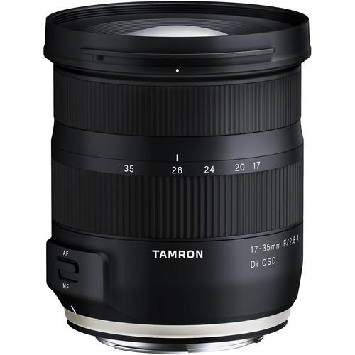 Tamron 17-35mm f/2.8-4 DI OSD Objektiv für Canon - Frontansicht