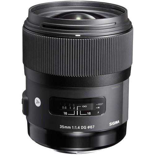 Sigma AF 35mm f/1.4 DG HSM Art Objektiv - Frontansicht