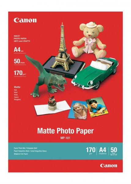 Canon MP-101 Fotopapier matt A4 50 Blatt (170g/qm)