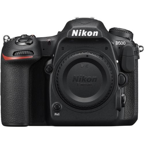Nikon D500 Gehäuse - Frontansicht