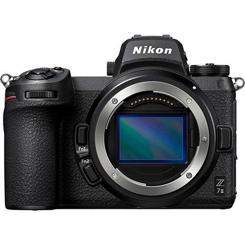 Nikon Z7II Gehäuse mit FTZ-Adapter