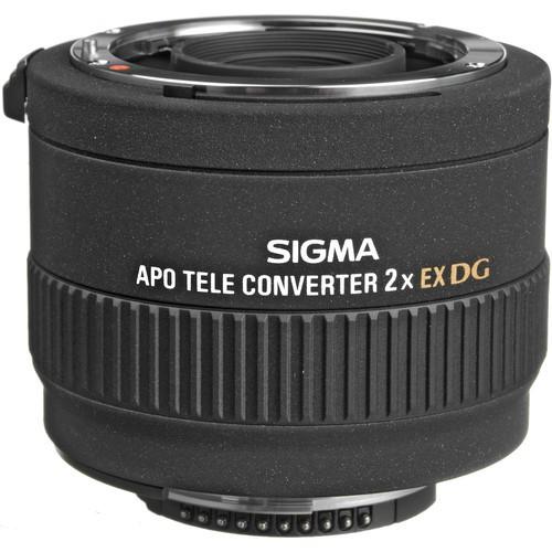 Sigma Telekonverter 2x DG APO für Nikon - Frontansicht