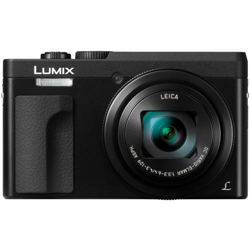 Panasonic Lumix DC-TZ91 schwarz - Frontansicht
