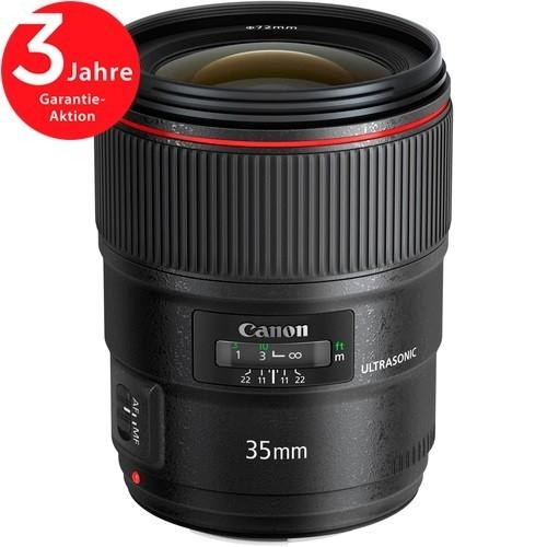 Canon EF 35mm f/1.4 L II USM Objektiv - Frontansicht