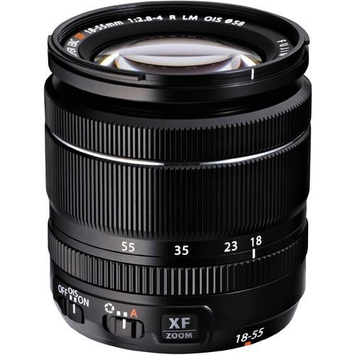 Fujifilm XF 18-55mm f/2.8-4 R LM O.I.S. Objektiv - Frontansicht