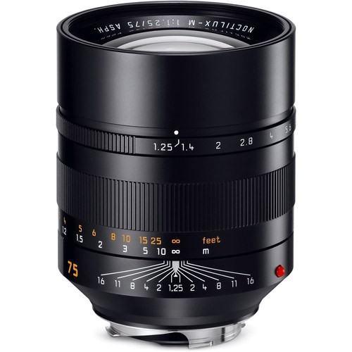 Leica Noctilux-M 75mm f/1.25 Objektiv (11676) - Frontansicht