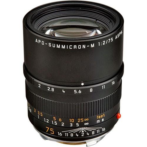 Leica Apo-Summicron-M 75mm f/2 ASPH. Objektiv 11637