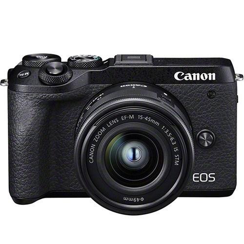 Canon EOS M6 Mark II Kit mit 15-45mm Objektiv