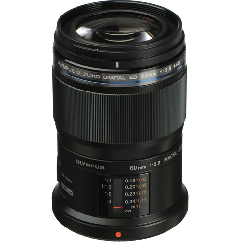Olympus M.Zuiko Digital ED 60mm F2.8 Macro - Frontansicht