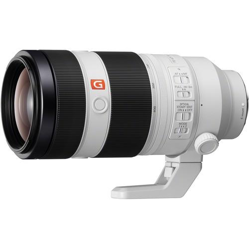 Sony FE 100-400m f/4.5-5.6 G Master OSS - Schrägansicht
