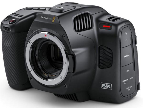 Blackmagic Pocket Cinema 6K Pro Gehäuse EF-Mount