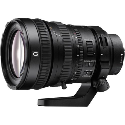 Sony FE PZ 28-135mm F4.0 G OSS Objektiv - Frontansicht