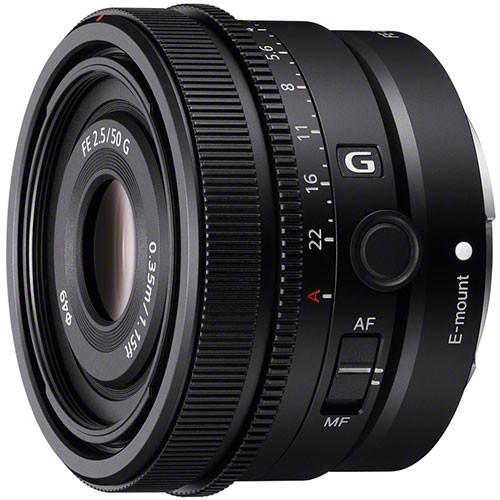 Sony FE 50mm f/2.5 G Objektiv