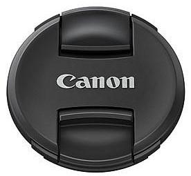 Canon E-58II Objektivdeckel - Frontansicht