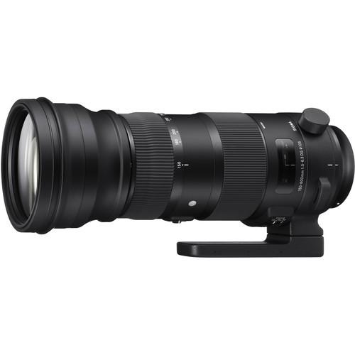 Sigma 150-600mm f/5-6.3 DG OS HSM Sports Objektiv für Nikon