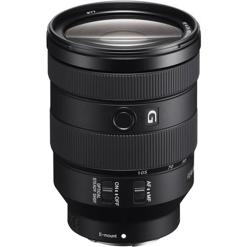 Sony FE 24-105mm f/4 G OSS Objektiv - Frontansicht