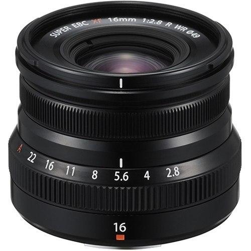 Fujifilm XF 16mm f/2.8 R WR Objektiv - Frontansicht