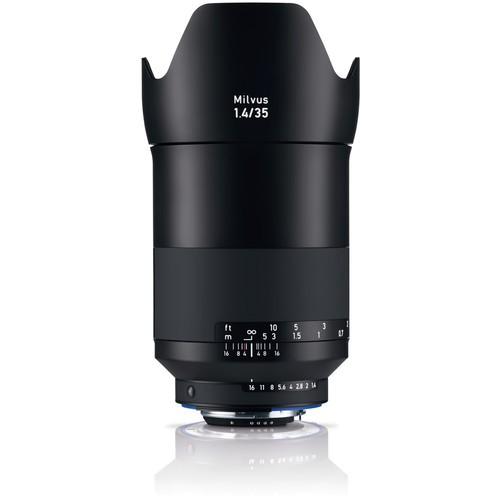 Zeiss Milvus 35mm f/1.4 - Frontansicht