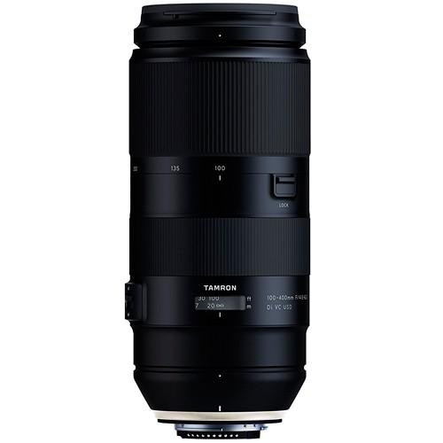 Tamron 100-400mm f/4.5-6.3 Di VC USD Objektiv - Frontansicht
