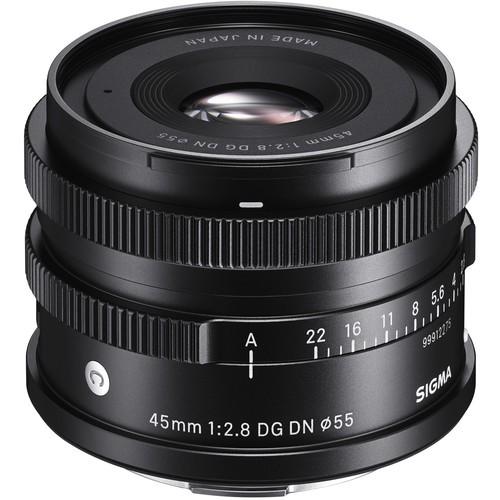 Sigma 45mm f/2.8 DG DN Contemporary Objektiv - Schrägansicht