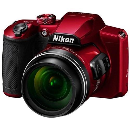 Nikon Coolpix B600 rot - Schrägansicht