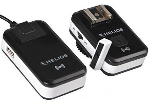 Helios Funkauslöser-Set 2.4G für Studioblitze