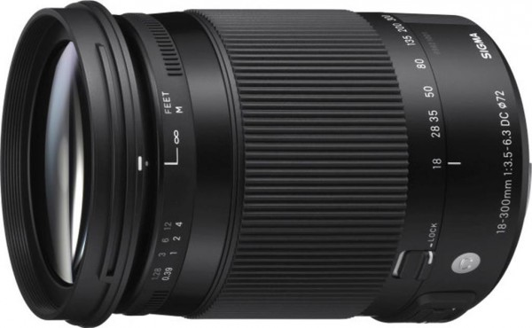 Sigma 18-300mm f/3.5-6.3 DC Macro OS HSM Contemp. Objektiv für Nikon