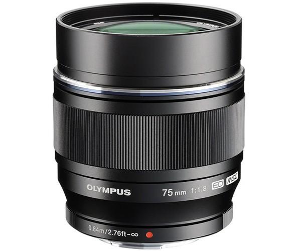 Olympus M.Zuiko Digital ED 75mm f/1.8 Objektiv