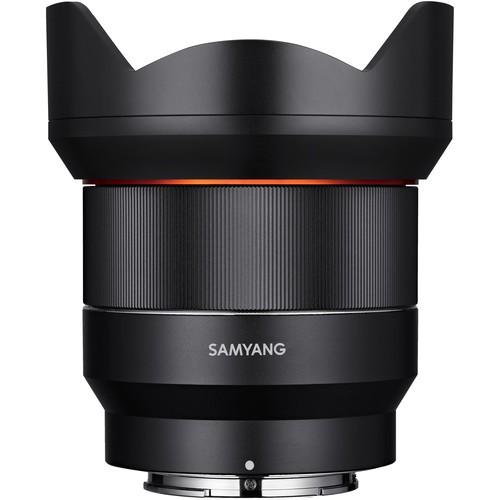 Samyang AF 14mm f/2.8 Objektivfür Sony E-Mount - Frontansicht