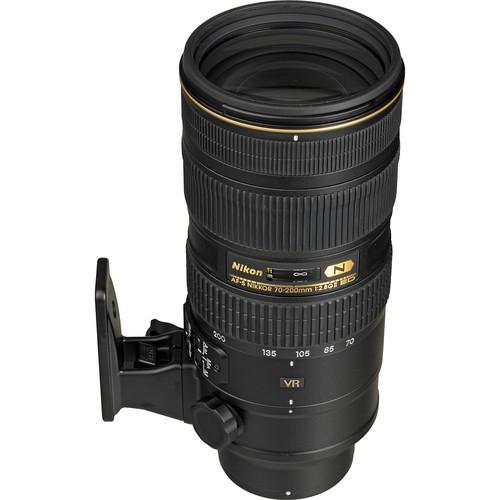 Nikon AF-S Nikkor 70-200mm F2.8 G ED VR II - Frontansicht