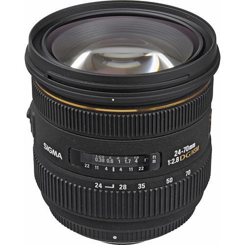 Sigma AF 24-70mm f/2.8 EX DG HSM Objektiv für Sony