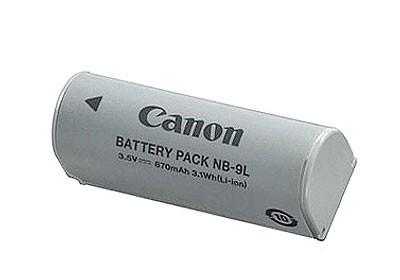 Canon NB-9L Li-Ion Akku