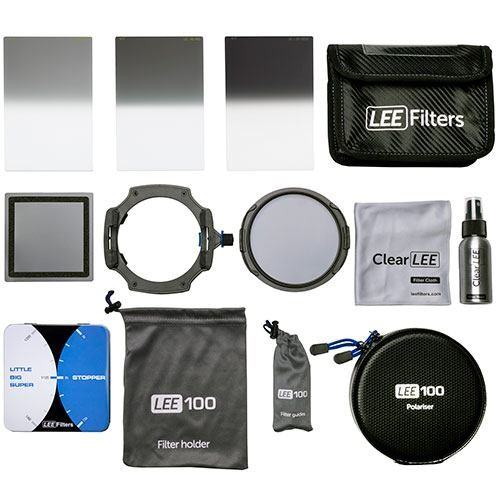 Lee Filters 100 Deluxe-Kit (Version 2019) - Topansicht